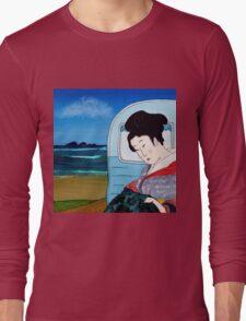 The Hokusai Family Holiday, Day 5 Long Sleeve T-Shirt