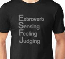 ESFJ personality Unisex T-Shirt