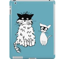 Cat superheroes iPad Case/Skin