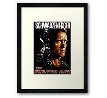 The Running Man Framed Print