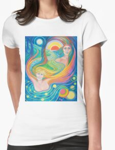 Starbright Womens Fitted T-Shirt