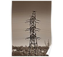 Electrical Tower Poster
