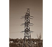 Electrical Tower Photographic Print