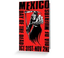 DAY OF THE DEAD-2 Greeting Card