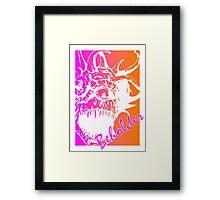 80's Beholder Framed Print