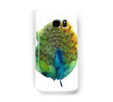 Watercolour Peacock Samsung Galaxy Case/Skin