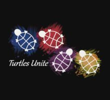 Turtles Unite - Artist Manda Kids Tee