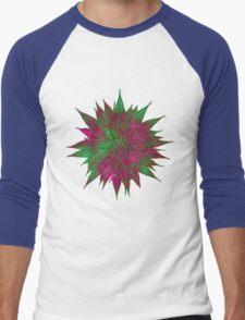 Razzle Dazzle Flower Men's Baseball ¾ T-Shirt