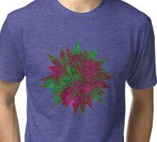 Razzle Dazzle Flower Tri-blend T-Shirt