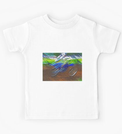 """The amazing effect of the slow speed 11  (c)(t) a PAINT    with humor ! """"Kiss the cool effect"""" without digital effects with compact kodak z 1285! on 29.07.2012 Kids Tee"""
