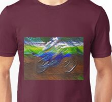 """The amazing effect of the slow speed 11  (c)(t) a PAINT    with humor ! """"Kiss the cool effect"""" without digital effects with compact kodak z 1285! on 29.07.2012 Unisex T-Shirt"""