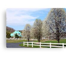 Morley Home Place Canvas Print