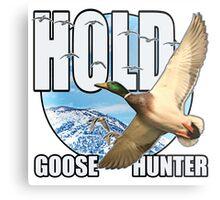 Goose Hunter Metal Print