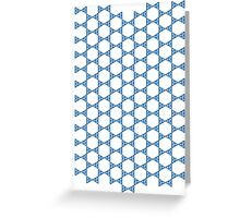 Iso Triangles Greeting Card