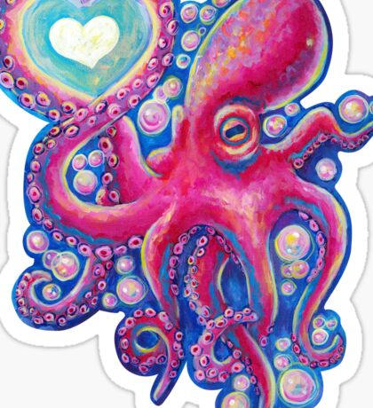 Octo Love Sticker