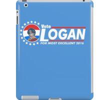 Vote Logan iPad Case/Skin