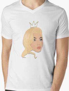 Vintage Queen B Mens V-Neck T-Shirt