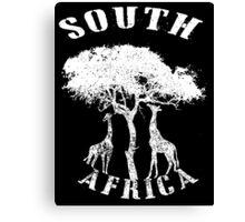 SOUTH AFRICA (GIRAFFE) Canvas Print