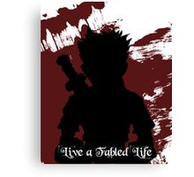 Fable - Live a Fabled Life Canvas Print