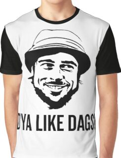 The Snatch D'ya like DAGS? Micky Graphic T-Shirt