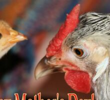 Mother's Day Poultry Sticker
