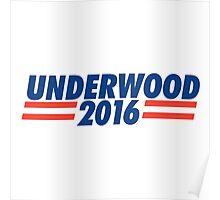 frank underwood 2016 Poster