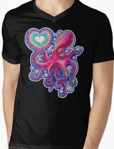 Octo Love Mens V-Neck T-Shirt
