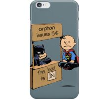 The Bat Is In iPhone Case/Skin