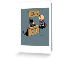 The Bat Is In Greeting Card