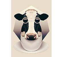 Caffeinimals: Cow Photographic Print
