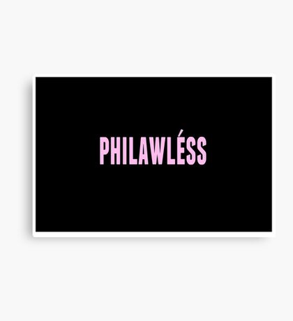 philawless Canvas Print