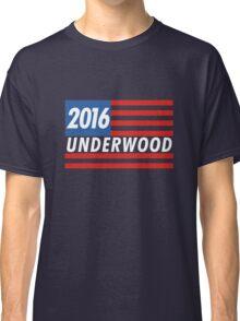 Frank Underwood Flag Classic T-Shirt
