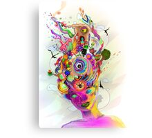 Subconscious Catacombs Canvas Print