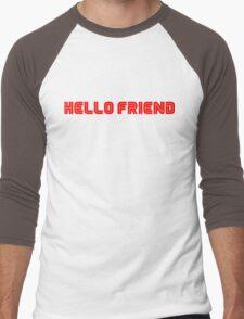 Mr. Robot Hello Friend Men's Baseball ¾ T-Shirt