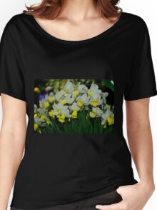 Jenny Daffodils Women's Relaxed Fit T-Shirt