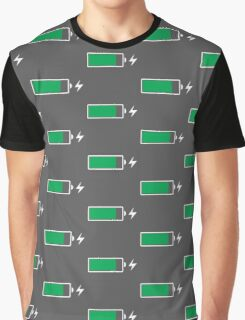 Battery Charging (W) Graphic T-Shirt
