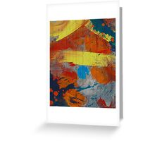 Abstract composition 229 Greeting Card