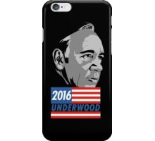 Underwood for 2016 iPhone Case/Skin