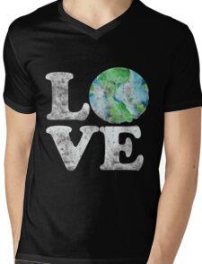 LOVE earth day Mens V-Neck T-Shirt