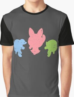 Retro Powerpuff Girls Graphic T-Shirt