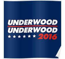 Underwood 2016 Logo Poster