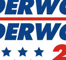 Underwood 2016 Logo Sticker