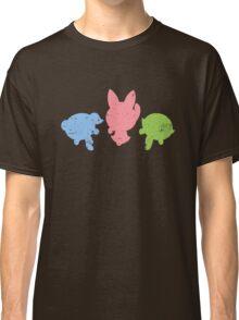 Retro Powerpuff Girls Classic T-Shirt