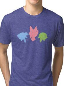 Retro Powerpuff Girls Tri-blend T-Shirt