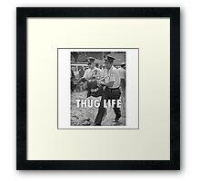 Bernie Thug Life Framed Print