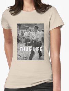 Bernie Thug Life Womens Fitted T-Shirt