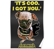 Superhero Pee Wee Poster