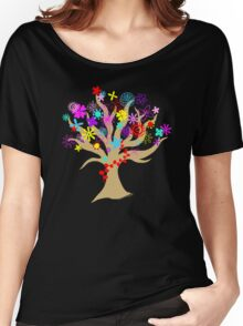 Flowering Tree Women's Relaxed Fit T-Shirt