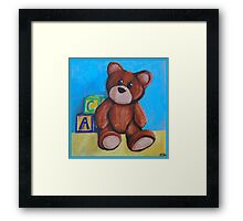 Toddler Toys Framed Print