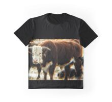 Mess With The Bull, You Get The Horns Graphic T-Shirt